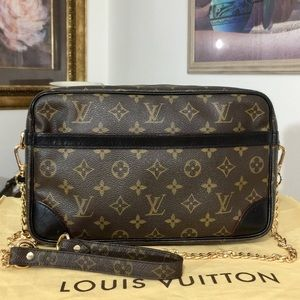 Louis Vuitton Compiegne 28 Shoulder Bag 💼 883SL